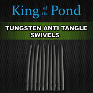 Tungsten Anti-tangle sleeves 40mm black x10 -  carp fishing, carp rigs