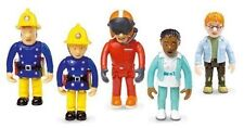 FIREMAN SAM BOXED SET OF 5 FIGURES  SAM  PENNY  NORMAN  TOM  FLOOD  NEW