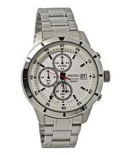 Seiko Chronograph SKS557 White Dial Stainless Steel Men's Watch