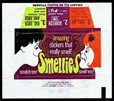 More details for rare fleer u.s.a. smellies 1969 wax wrapper  superb