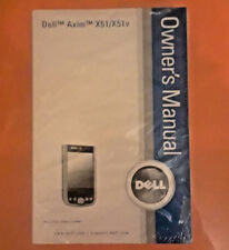 Dell Axim X51/X51v Owners Manual - NEW - Operating Instructions PDA User Guide