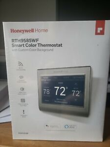 New! Honeywell RTH9585WF1004 Smart Color Thermostat - Free Shipping