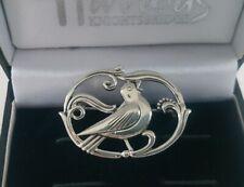 Eiler Marloe Georg Jensen Style Sterling Silver Bird Demark Danish Brooch Pin
