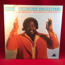 LOVE UNLIMITED ORCHESTRA Music Maestro Please 1975 UK Vinyl LP BARRY WHITE EXCEL