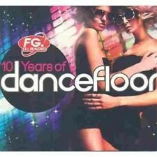CD NEUF scellé- 10 YEARS OF DANCEFLOOR / Digipack 6 CD - 120 Titres - Co 410