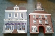 Cat's Meow Village~1823 Town Hall & Grace Notes Music~On The Square Series Iv
