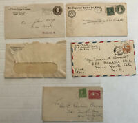 5 piece 1920s-1930s stationery lot [y3977]