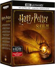 Harry Potter 8 Film - 4K Ultra HD Box set (Blu-ray) *BRAND NEW*