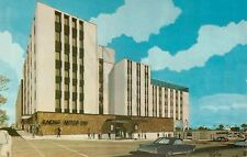 Racine Wisconsin~Motor Inn~6th & Main~Artist Drawing~1960s Postcard