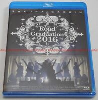 New Sakura Gakuin The Road to Graduation 2016 Promise Yakusoku Blu-ray Japan F/S