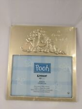 Winnie the Pooh Gold Picture Frame Piglet Eeyore 6x4 3D Classic Disney 2000 New