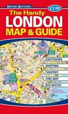 The Handy London Map & Guide by Bensons MapGuides | Paperback Book | 97818989295