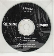 (GU304) Quark, Point of Seeing / Patagonia - 2009 DJ CD