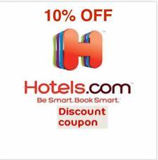 Hotels.com 10% off promo code Hotels.com Hotels com 10%OFF Discount code Hotel