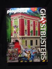 Playmobil 9219 Ghostbusters Movie Firehouse 228pc NIB.