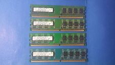 4GB PC2-6400 DDR2 4 x  1GB  800MHz Non Ecc 240 pin Desktop Memory Ram