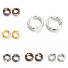 50g Standard Open Jump Rings Strong Unsoldered Loop Findings 4~8mm Pick Color