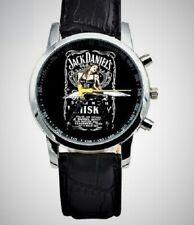 Jack Daniels Analog Unisex Leather Band Watch NEW