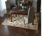 Royal Palace Butterfly Harmony 7' X 9' Handmade Wool Rug QVC NEW W/Tag Sealed