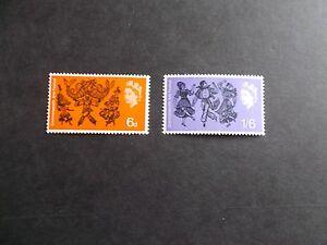 1965 Arts Festival phosphor Set of 2 Values SG 669p-670p Cat £2.75 Superb M/N/H