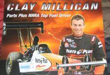 2012 Clay Millican Parts Plus Top Fuel NHRA postcard