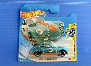 Hot Wheels Super Treasure Hunt Porsche 356 Outlaw FREE Protector Short Card