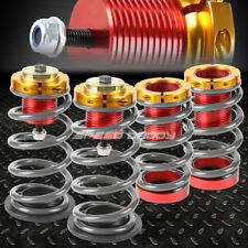"""FOR 12-15 HONDA CIVIC 1-4"""" ADJUSTABLE SILVER SPRING COILOVER SUSPENSION LOWERING"""