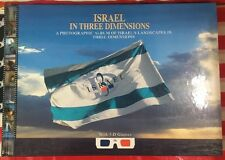 Israel in Three Dimensions 3D Photo Book In Both Hebrew And English With Glasses