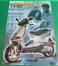PIAGGIO SKIPPER ST 125 ST150 SCOOTER PUBBLICITA DEPLIANT CATALOGUE BROCHURE