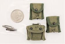 Ace 101st Airborne Sgt Popeye 3 pouch lot 1/6 toys dragon GI Joe soldier Vietnam