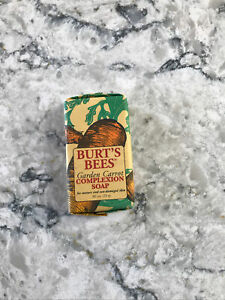 Burt's Bees Garden Carrot complexion soap travel mini 0.8 oz.