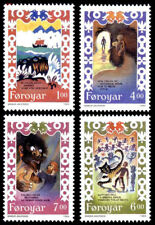 Faroe Islands 1994 Folklore, Traditional Song, Brusajokil's Lay, UNM / MNH