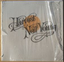 Super Clean Neil Young Harvest - In Shrink - Textured Cover - Insert