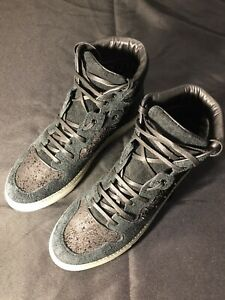 BALENCIAGA NEW CORDUROY COTES HIGH TOPS SNEAKERS SHOES 41 US 8.5 - 9 AUTHENTIC