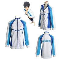 Free! Iwatobi Swim Club Nanase Haruka Costume Cosplay Sportswear Jacket Coat