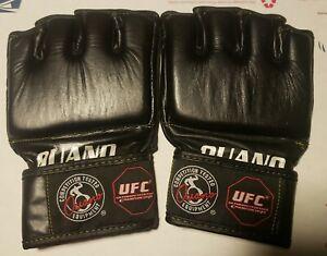 UFC Ouano MMA gloves RARE New UFC PRIDE