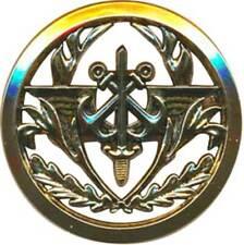 Insigne de béret du C.G. des Armées, doré, 2 pontets,Beraudy (11147)