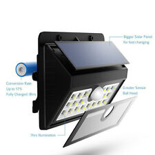 Weatherproof Outdoor LED Solar Sensor Light 45 LEDs ** OZ STOCK **