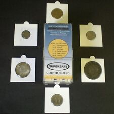 Self Adhesive Coin Flips Supersafe 2x2 50 Holders Assorted Sizes Free Shipping