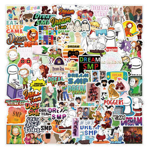 NEW  20  Different DREAM SMP  Stickers Laptop / Skateboard / PC'S  NEW
