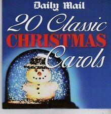 (BZ973) 20 Classic Christmas Carols - Daily Mail CD