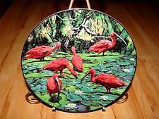 """""""Scarlet Ibis"""" THE EXOTIC BIRDS OF TROPIQUE by Konrad F. Hack Plate"""