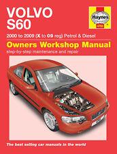 Haynes Manual Volvo S60 Series 2000 - 2009 NEW (4793)