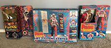 Vintage 1976 Mattel PULSAR HYPNOS LIFE SYSTEM Action Figure LOT W/ Boxes RARE
