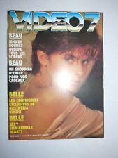 Magazine VIDEO 7 #62 décembre 1986 cover Nastassja Kinski