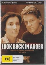 LOOK BACK IN ANGER - KENNETH BRANAGH & EMMA THOMPSON  -  NEW DVD-FREE LOCAL POST