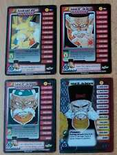 ANDROID 20 LV1-3 & HT [Damaged] #185-187 & 199 Cell Dragon Ball Z Ccg Tcg Dbz
