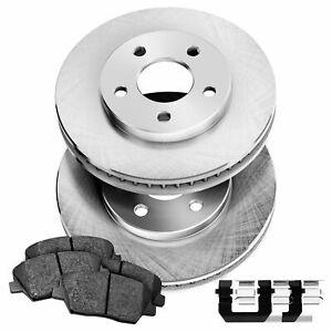 PowerSport Front Blank Rotors + Ceramic Brake pads BLBF.47087.02