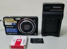 Sony Cyber-shot DSC-WX1 10.2MP Digital Camera - Black *VERY GOOD*