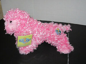 KooKeys Coral Yorkie poodle Unlock The Fun Plush Toy Dog NWT Rare 10""